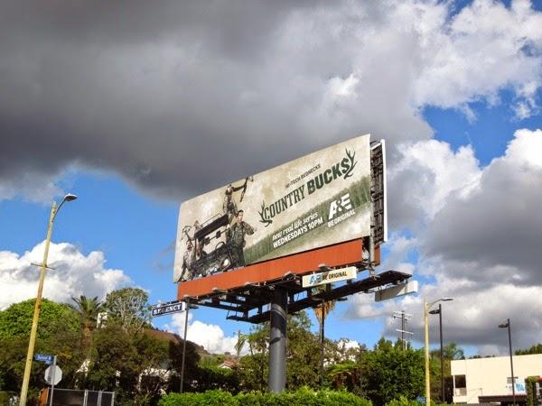 Country Bucks season 1 billboard