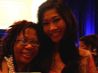 sookie of In A Lather and Julie Chang of Fox 5 in NYC at FOX Touch World-Wide Event