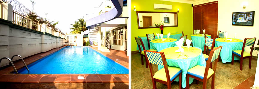 Nostro Suites Lekki restaurant and fitness centre