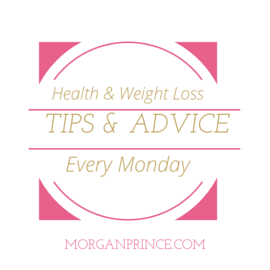 Morgan's Milieu | Health and Weight Loss Tips 20: health and weight loss tips badge
