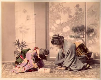Córka samuraja, Sugimoto Inagaki, Okres ochronny na czarownice, Carmaniola