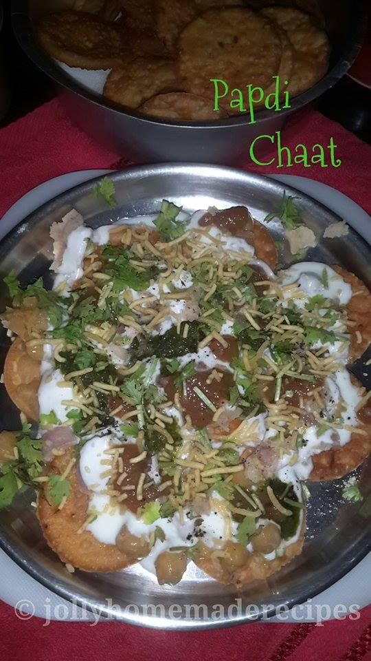 Papdi chaat recipe how to make delhi papdi chaat recipe chaat delhi papdi chaat recipe with step by step photos this is a famous north indian street and fast food chaat a hindi word which literally means lick forumfinder Image collections
