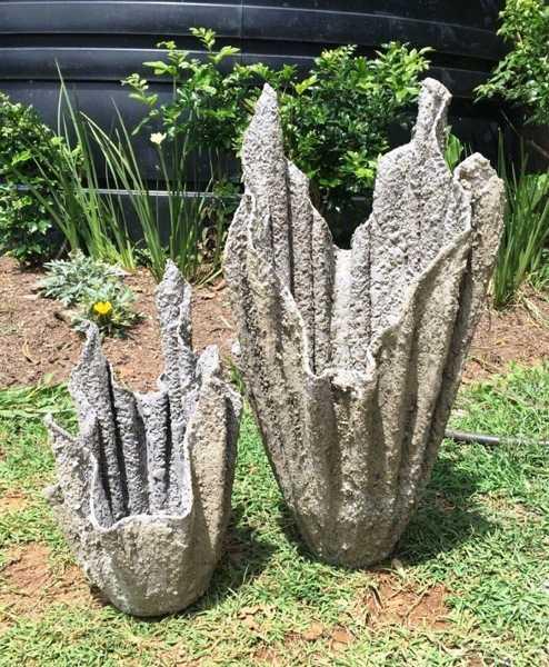 Сделать вазоны для цветов своими руками