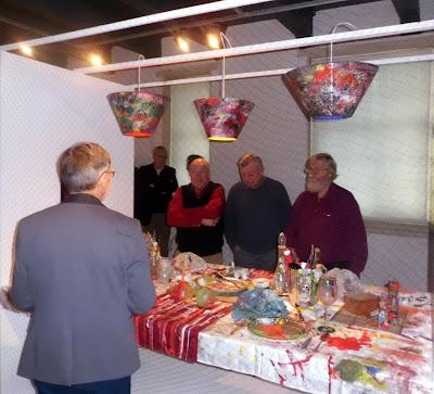 Sneuper blog van de historische vereniging noordoost friesland te dokkum feestelijke tafels in - Feestelijke tafels ...