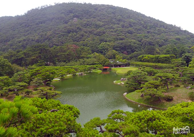 Parc Ritsurin, Takamatsu, Shikoku