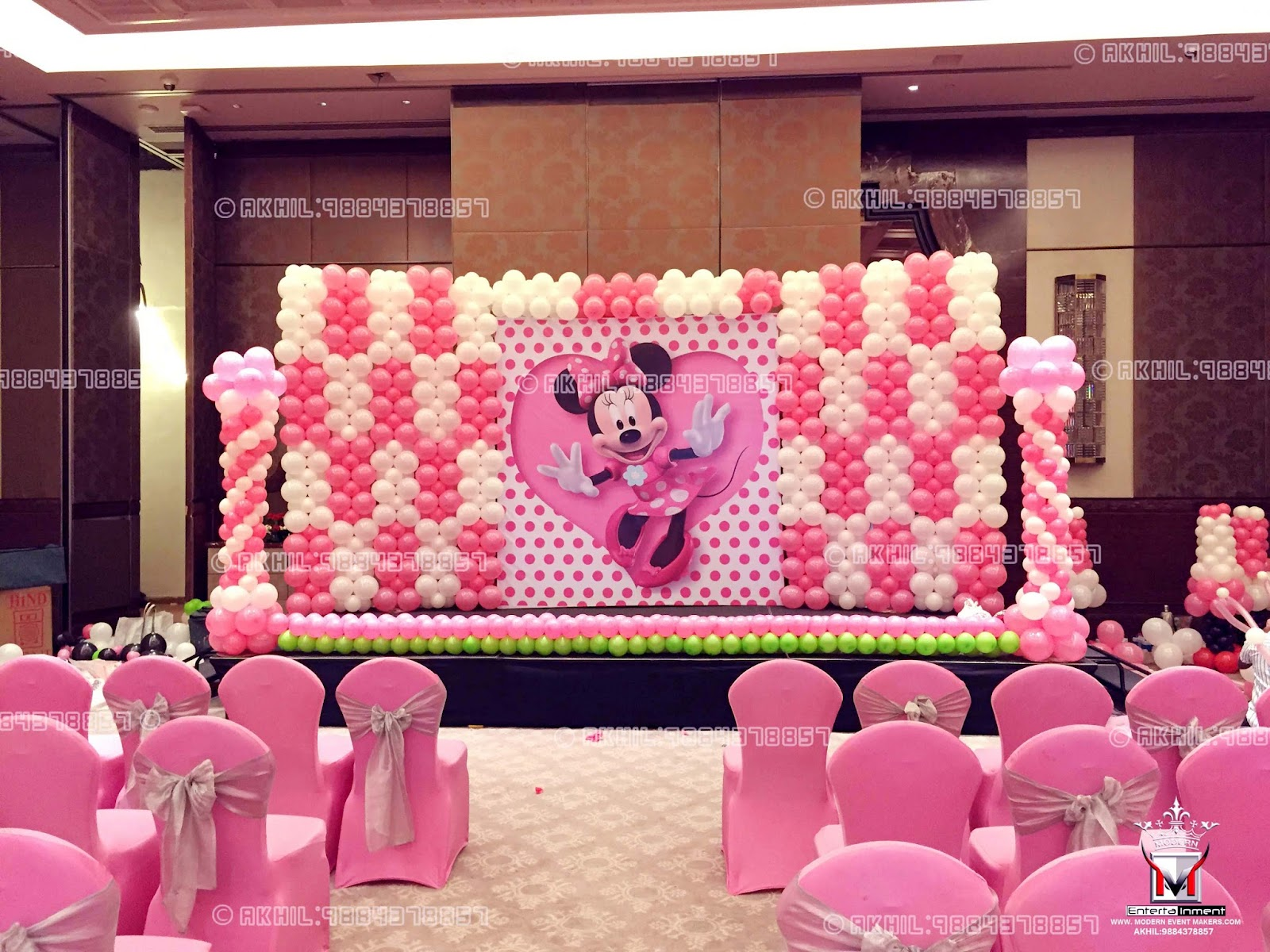 Event management company balloon decoration modern for Decor company