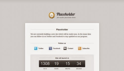 Placeholder - Free Blogger Template