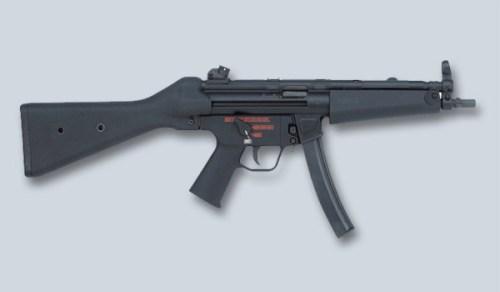 Kopassus Terima 315 Senapan HK MP5