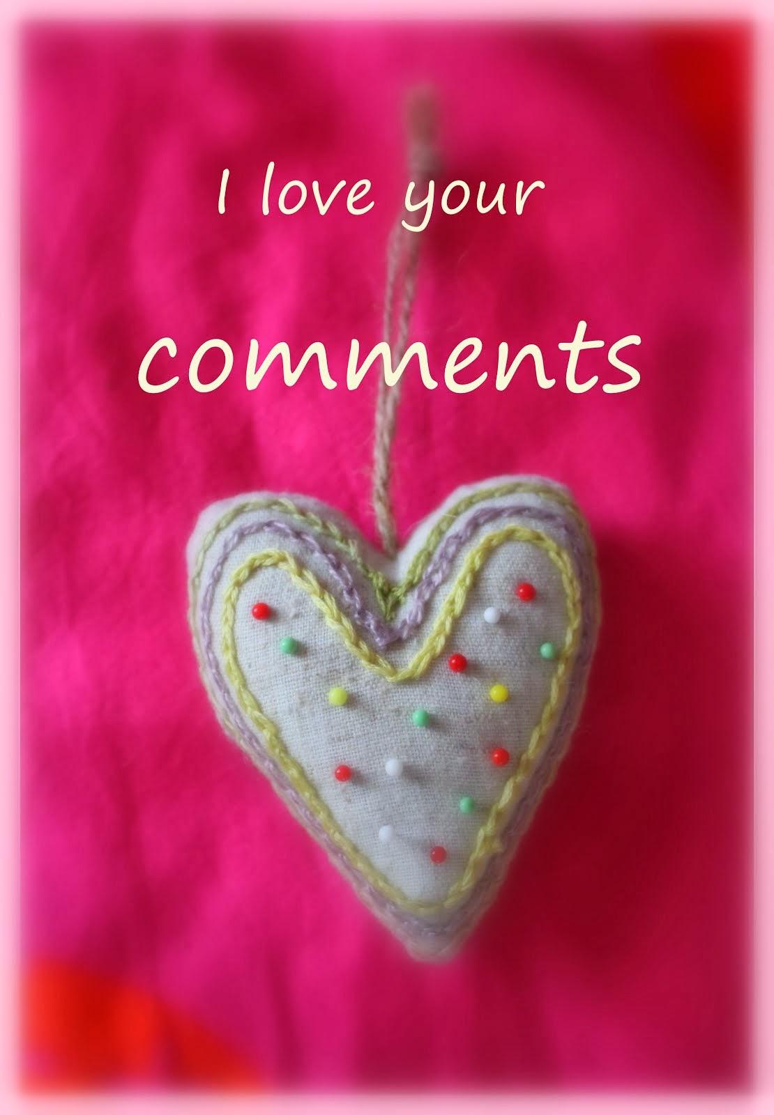 Kommentit ovat blogin suola!