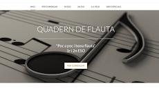 Quadern de Flauta 1r i 2n