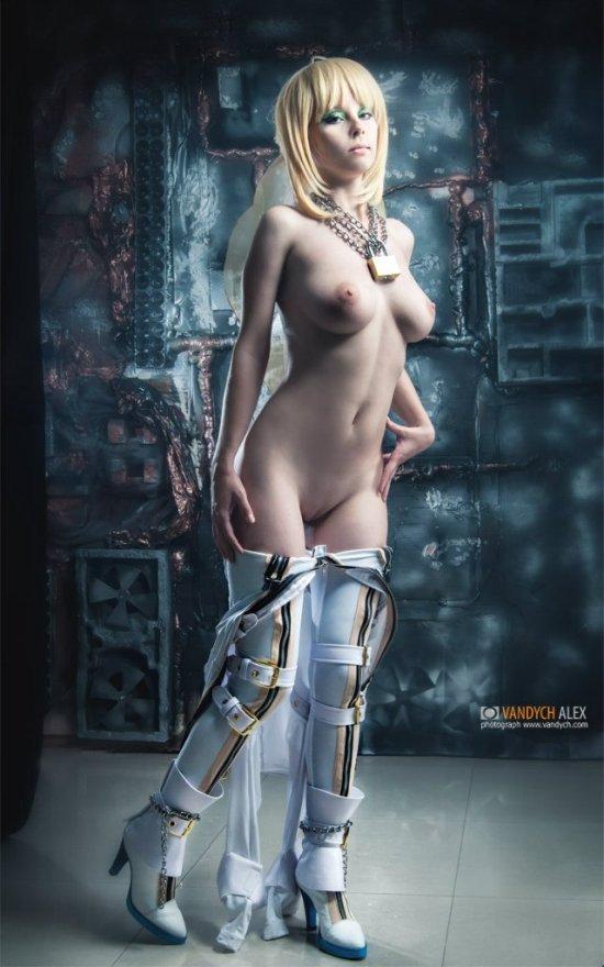 Helly von Valentine disharmonica deviantart cosplay modelo erótica sensual corpo nudez peitos fetiche anime