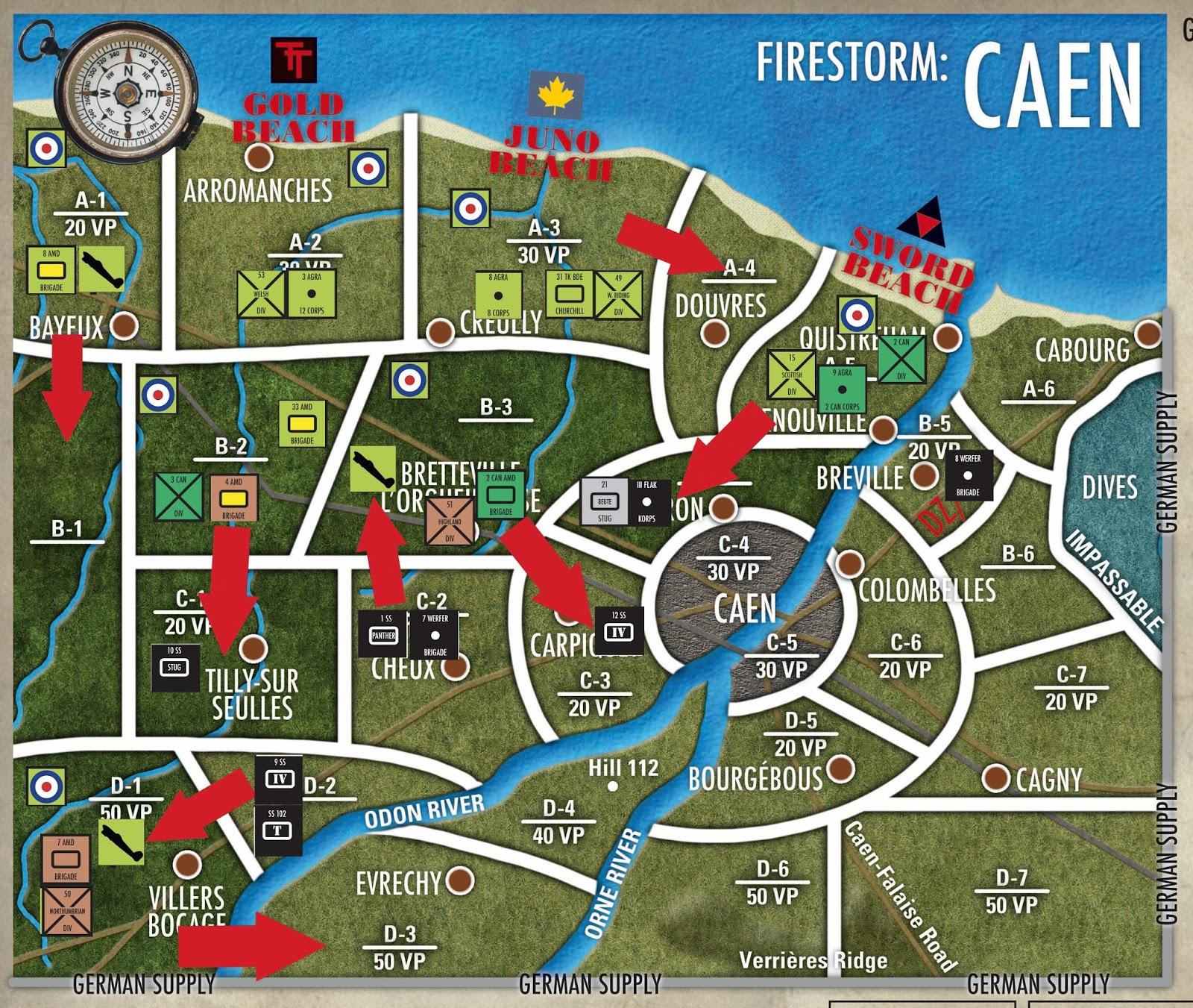 Rust and the City Firestorm Caen Turn 4