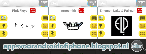Logo Quiz Music Bands - Rock: antwoorden, oplossingen, cheats en hints