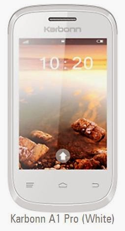 Karbonn A1 Pro price India image