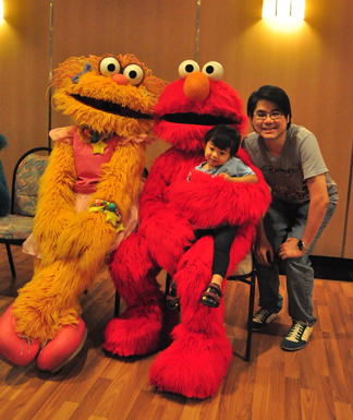 The bub in the belly sesame street live elmos green thumb sesame street live elmos green thumb m4hsunfo