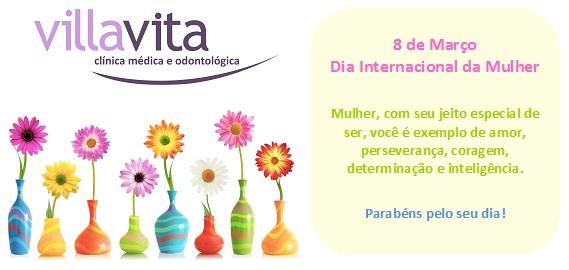 Fl - Dia Internacional da Mulher