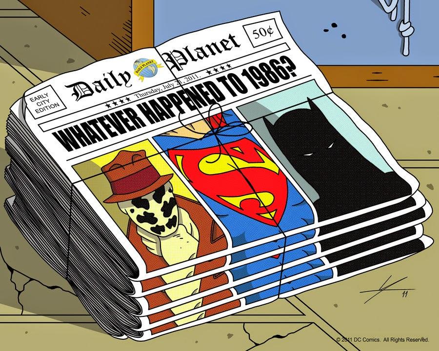 Watchmen Superman Batman The Dark Knight Returns by IAMO