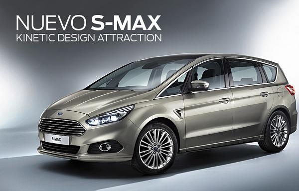 Ford venderá la nueva S-Max en Argentina