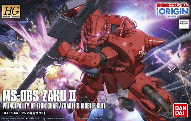 HG Zaku II Mobile Suit Gundam The Origin