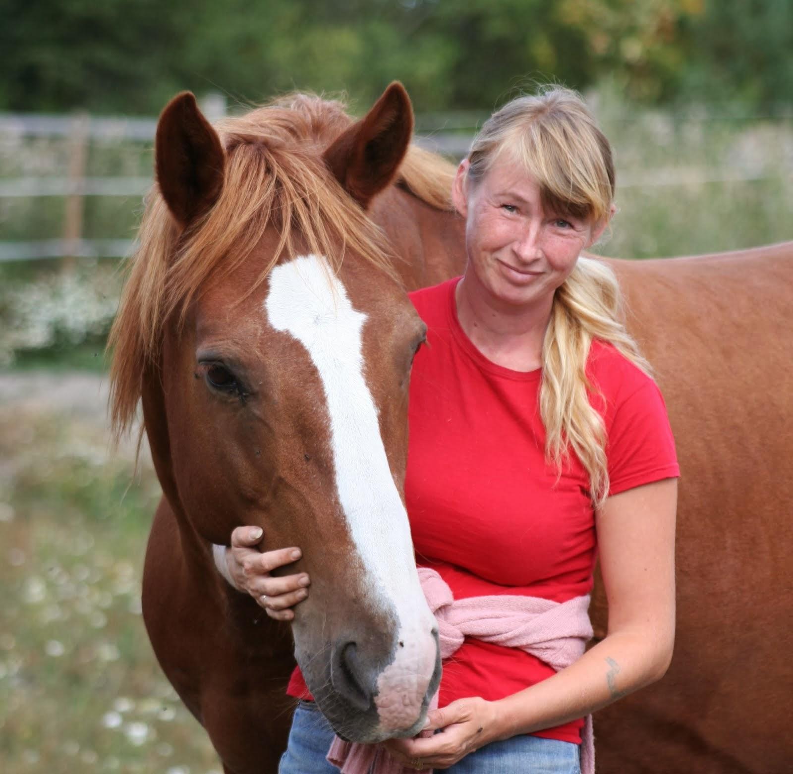 Tunne Hevonen bloggaaja Minna Lindström on hevostenkouluttaja ja ratsastusvalmentaja