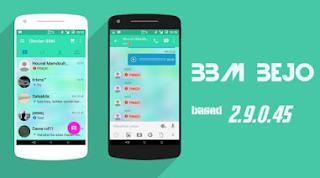 BBM Mod Bejo Greeny Theme 2.9.0.45 Terbaru