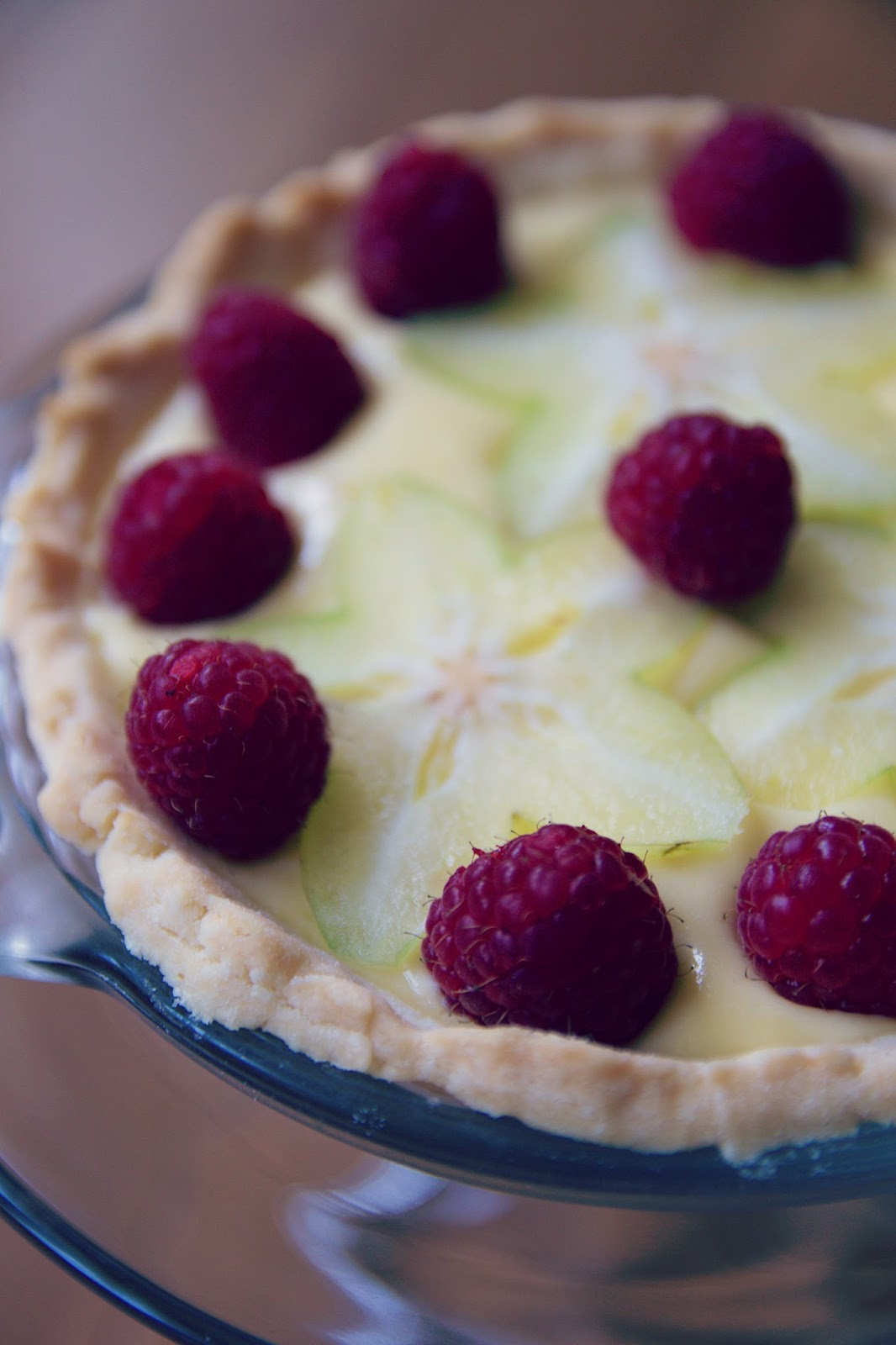 ... custard delicious dessert fruit gf gluten free no gluten pie raspberry