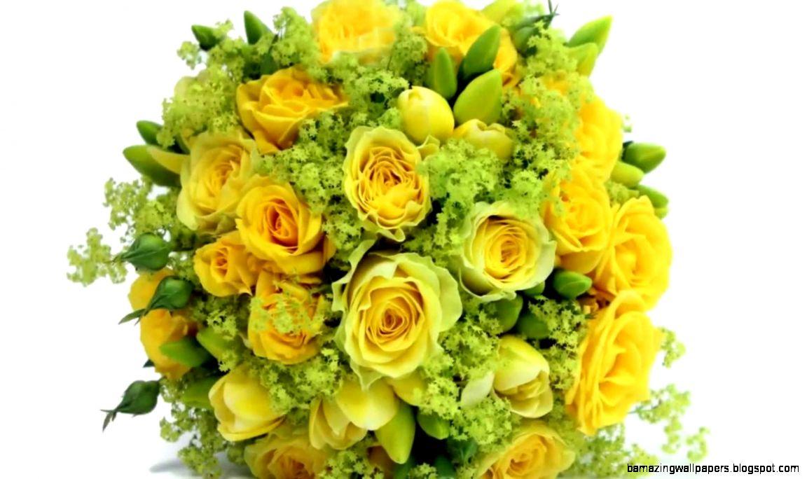 Yellow Summer Wedding Flowers Amazing Wallpapers