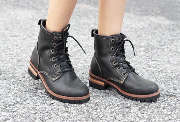 sketchers black boots. skechers logger boots sketchers black