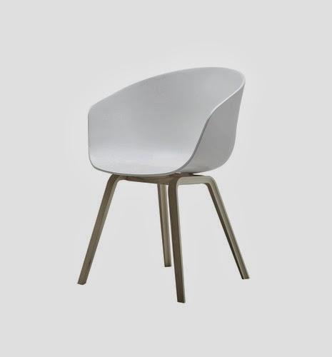 pult stoler hvit