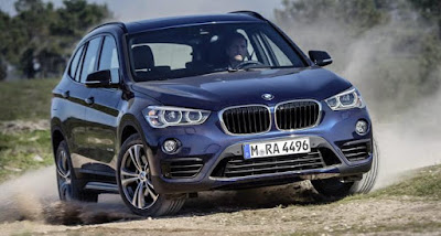 2016 BMW X1 Spy Shots