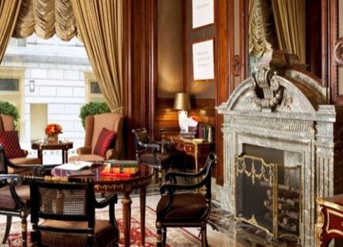 photo of bentley suite at st regis hotel in manhattan new york interior