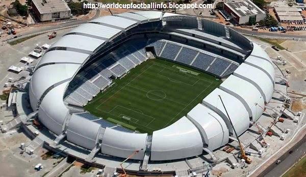 arena das duna, fifa world cup, world cup 2014, world cup football venues, football venues, soccer games, football games, venues