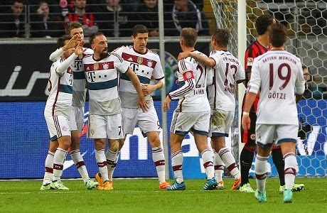 Bayern Kalahkan Eintracht Frankfurt 4-0
