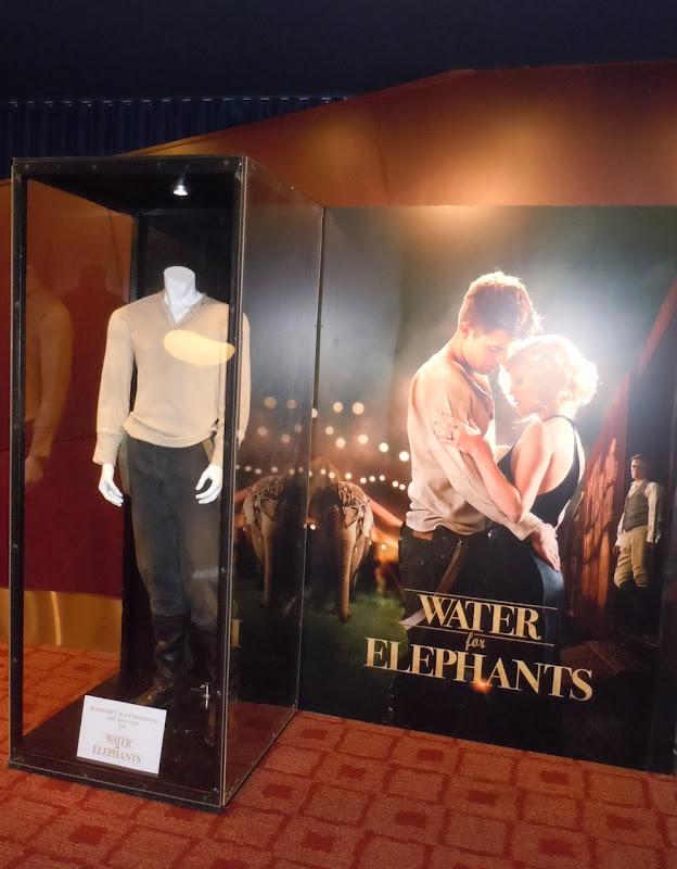 Robert Pattinson Water for Elephants costume display