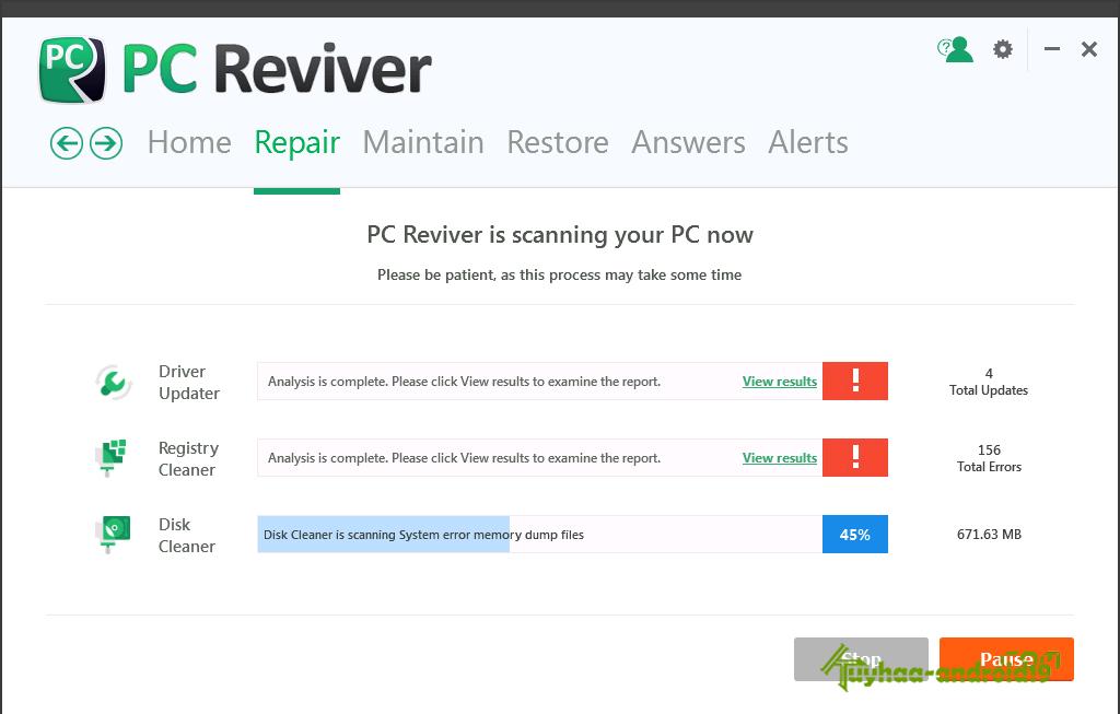 pc reviver setur за что отвечает?