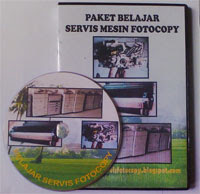 belajar servis fotocopy
