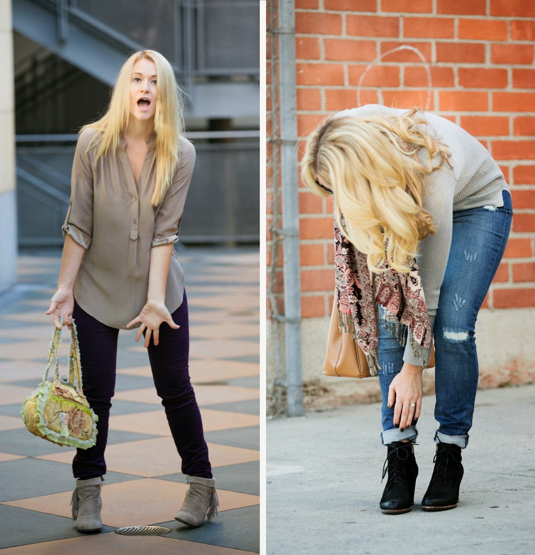 April Fool's Fun | Fashion Blogger Outtakes | Luci's Morsels