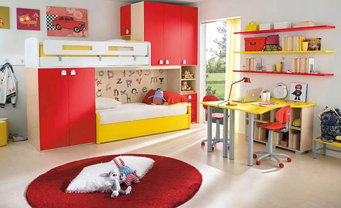 Cool Kids Room Interior Decorating
