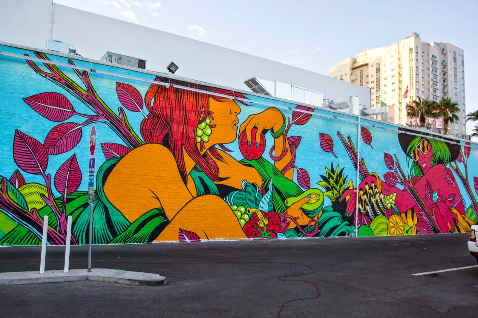 Bicicleta sem freio create a new mural for life is for Beautiful wall mural