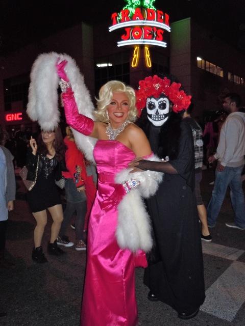 WEHO Halloween Carnaval Marilyn Monroe