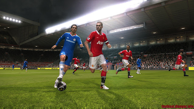 TẢI GAME Pro Evolution Soccer 2011 FULL CRACK, KEY Pro Evolution Soccer 2011