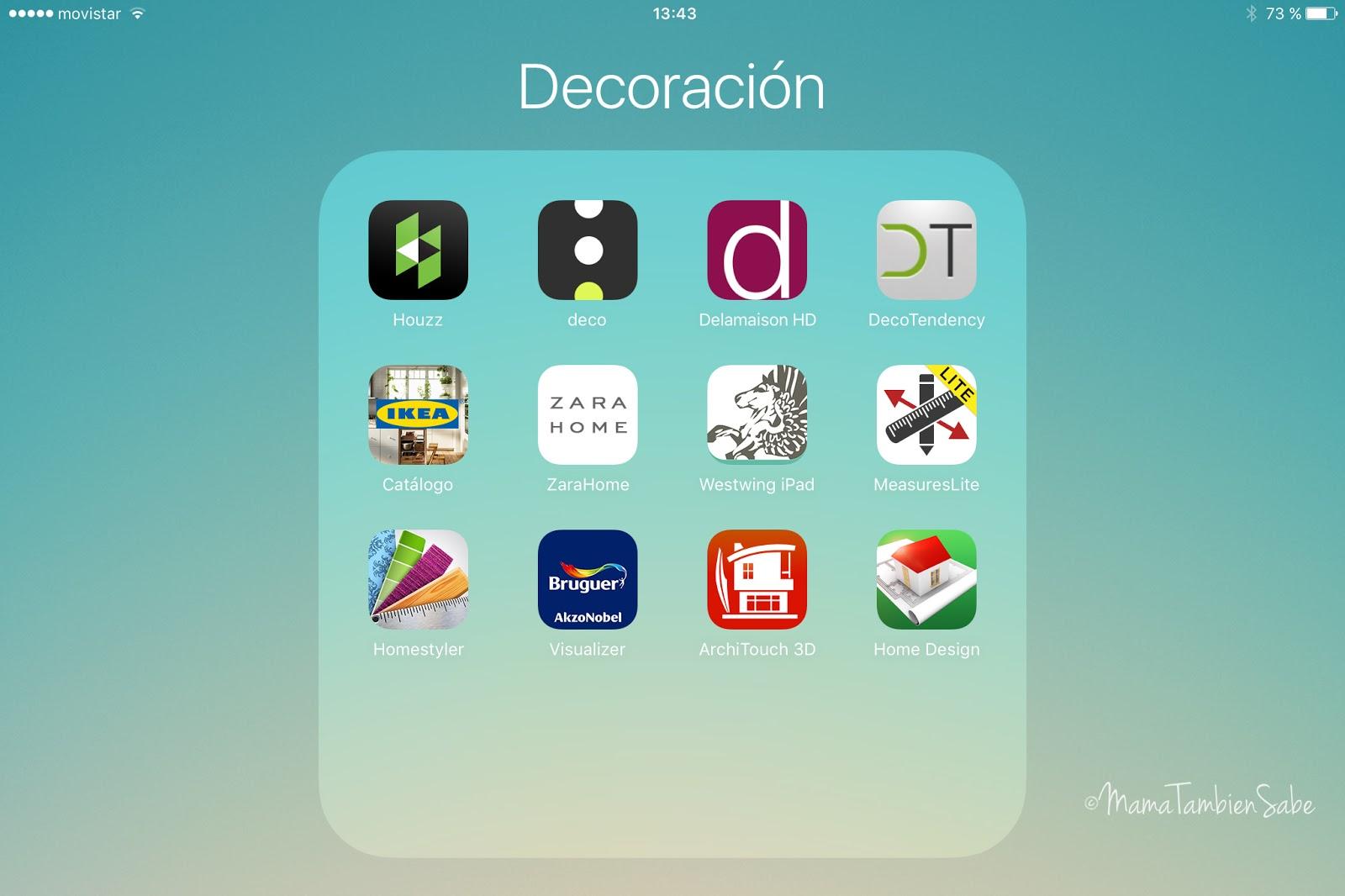 Cosas de casa fuentes de inspiraci n y apps para for App decoracion
