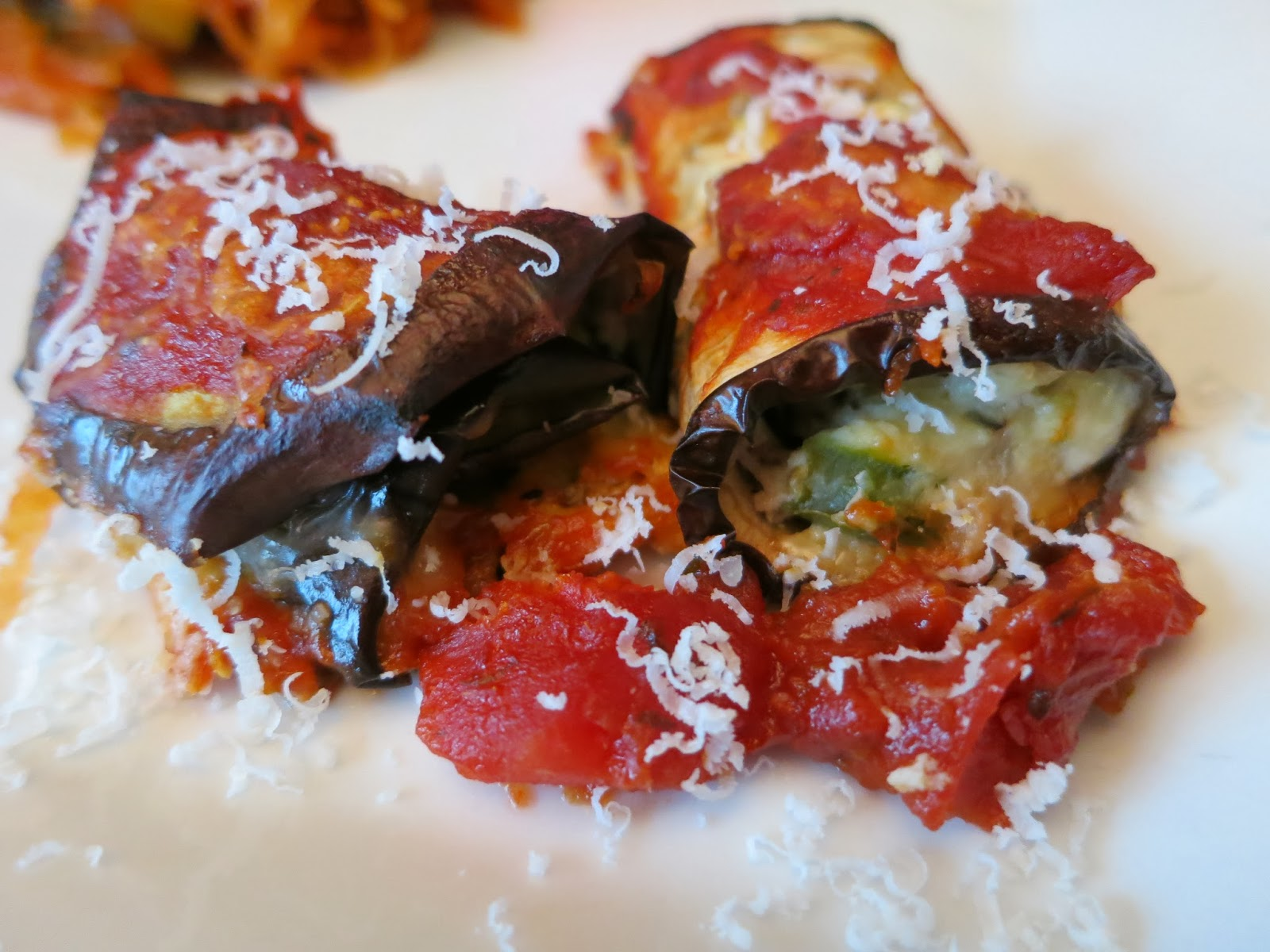 What's to Eat?? Skinny Eggplant Rollatini ~ A Dash of Style, with a ...