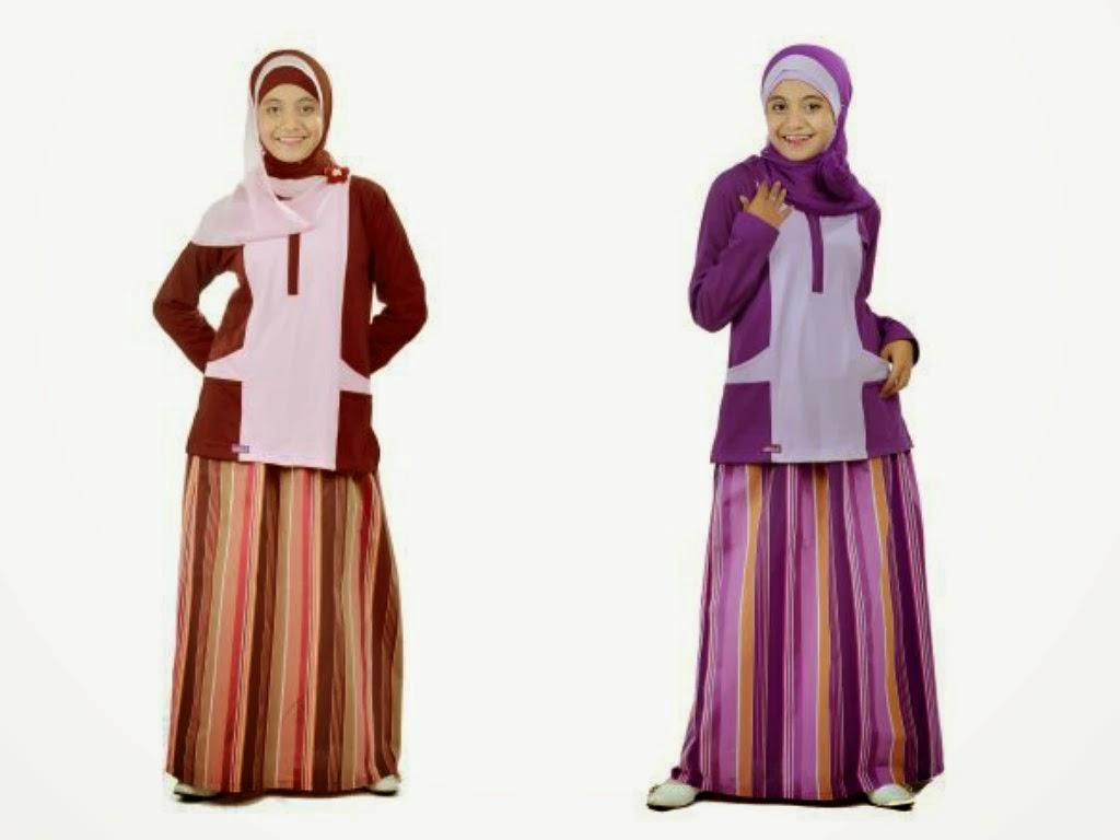 Model Baju Muslim Remaja Casual