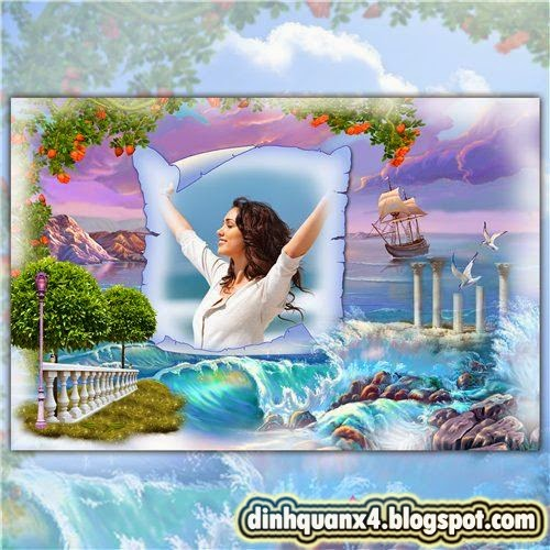 Frame for Photoshop - The Wealth of Nature
