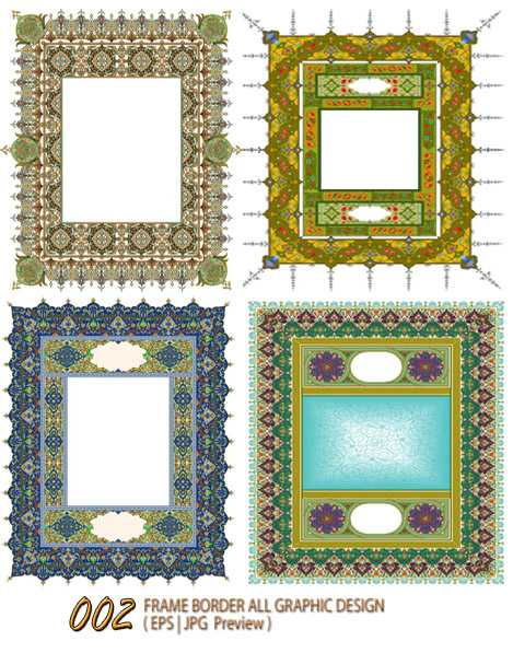 Frame Border All Graphic Design 002 Download