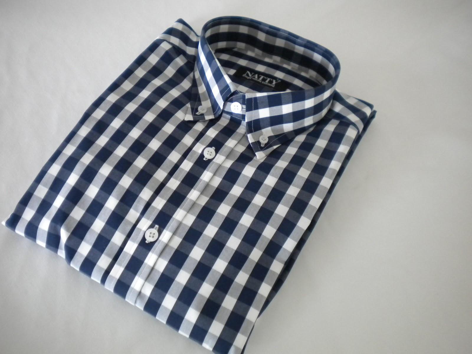 2799 Magenta Checkered Mens Custom Dress Shirts Best Custom