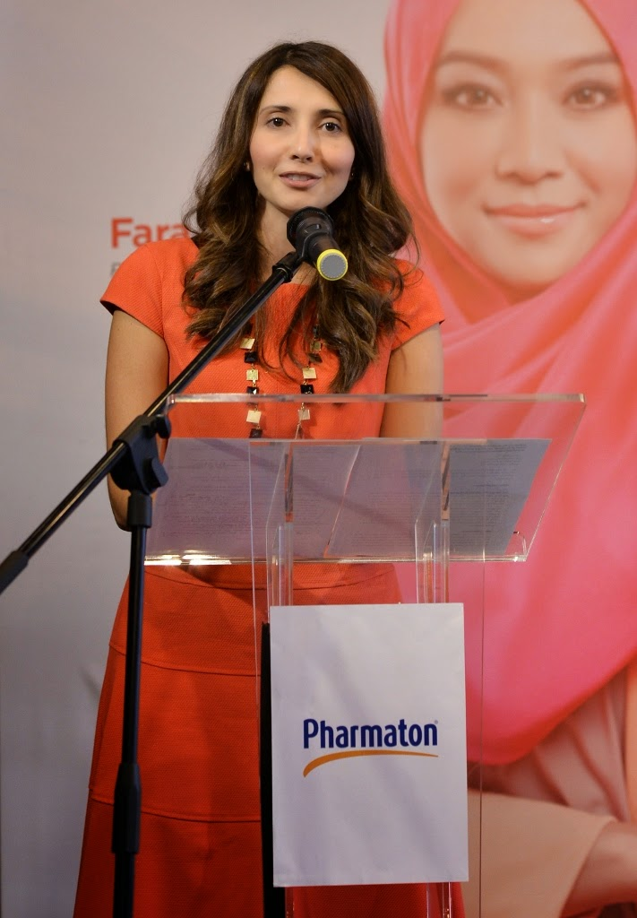 Pharmaton® Introduces Brand Personalities : Fara Fauzana and Sherson Lian