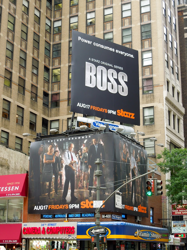Boss season 2 billboard 7th Avenue