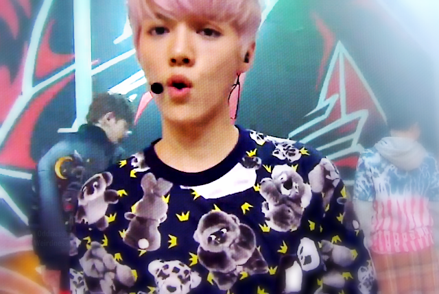 exo luhan growl music core 130803